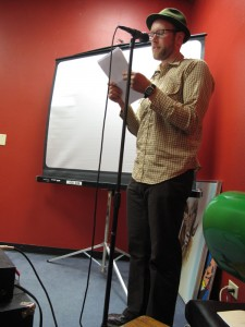 Adrian Kien at Mouth and Thistle Reading